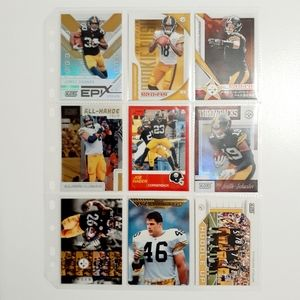 Pittsburgh Steelers 9 Card Lot [FBL27_1]